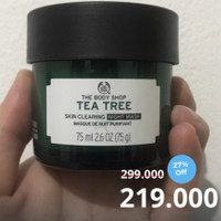 The Body Shop TEA TREE Skin Clearing Night Mask