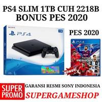 PS4 SLIM GARANSI RESMI SONY BONUS PES
