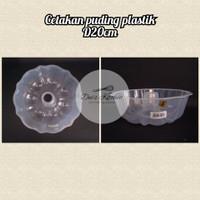 Cetakan Puding Plastik D20cm