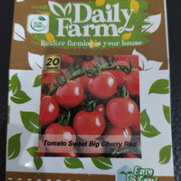 Daily Farm - Benih Bibit Tomat / Tomato Sweet Big Cherry Red