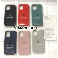 Silicone case iphone 12 mini 5.4 back cover