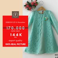 [8-10-12] Baju Gamis Anak Perempuan Kualitas Export DO 198-2