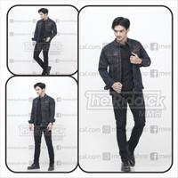 jaket jeans jaket denim peria original