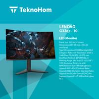 LENOVO MONITOR G32QC - 10 Gaming Curved QHD 1ms 144Hz HDMI DP
