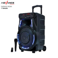 Speaker Bluetooth Advance K1202 Speaker PA Hi Fi Portable