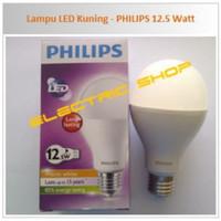 Lampu led bulb philips 12,5 watt lampu bohlam led 12.5 w kuning 3000 k