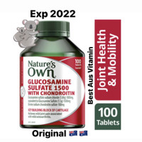 Natures Own Glucosamine 1500 with chondroitin 100 Tablets nature's own