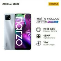 realme narzo 20 ram 4gb 64gb 4/64 garansi resmi realme Indonesia