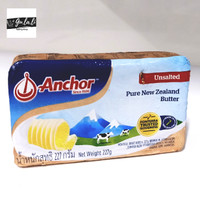 anchor unsalted butter 227 gr