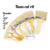 KUAS CAT 633 1 - 4 INCH - KUAS CAT TEMBOK BAGUS - KUAS CAT MURAH - 1.5 inch