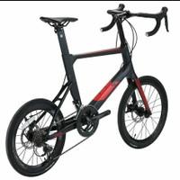 Mini Vello Java Carbon 105 sepeda balap new stock 2020