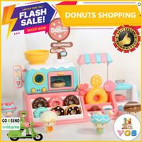Mainan Anak Perempuan Jualan-Jualanan/Toko-Tokoan Donut / Donuts Shop