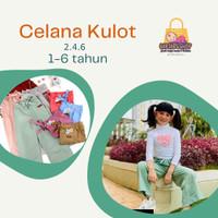 Celana Kulot Anak perempuan 1-6 tahun size 2.4.6 - Grey, 6
