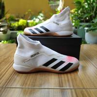Sepatu Futsal Adidas Predator 20.3 LL IN Size 43 White Original BNIB