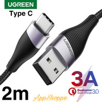 Ugreen USB Type C 3A Fast Charging Kabel Data Cable ORIGINAL IMPORTED