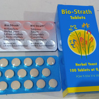 Bio-Strath tablet per strip 20's original 100%