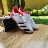 Sepatu Futsal Adidas Predator 20.4 SALA Size 44.5 White Original BNIB