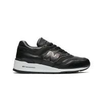 NEW BALANCE 997 HORWEEN LEATHER BLACK MADE IN USA - M997PAF