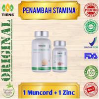 Penambah Stamina Pria dewasa/ suplemen pria/ Tianshi Muncord zinc
