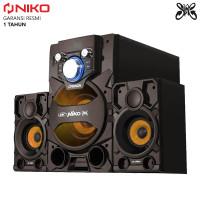 Niko Slank Cannon Speaker Bluetooth Aktif 2.1