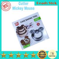 cetakan kue stainless mickey
