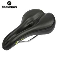 ROCKBROS Jok Sadel Sepeda Lipat MTB Roadbike Hollow PU Leather 6685