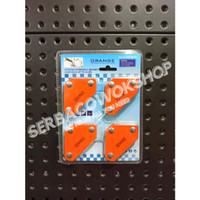 Orange Arrow Magnetic Welding Holder Siku Magnet 9 LB Isi 4 Pcs
