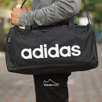 ORIGINAL Adidas Sport Duffle Gym Travel Bag Tas Pria Olahraga Hitam