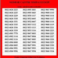 Nomor Cantik Telkomsel Kartu Perdana Simpati Loop Nomer