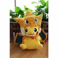 Boneka Pokemon Pikachu Charizard Import