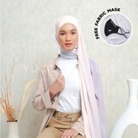Hijab Pashmina Ombre Crinkle Chiffon Premium Safaa ORCHID-Yucca Modest