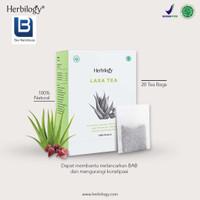 Laxa Tea Detox & Lancar BAB Herbilogy - 20 Kantong Teh
