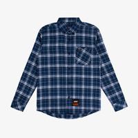 Geoff Max Official - Freecs Blue Square   Kemeja   Flannel