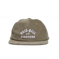 COOL CAPS - TOPI - BASEBALL FOR EVERYONE (OLIVE)