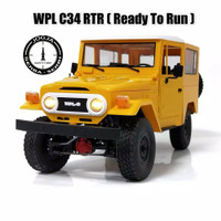 RC RTR WPL C34 1/16 Full Propo 2.4ghz 4x4 Offroad