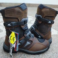 Sepatu Touring Motor Forma Adventure Low Brown Waterproof Original