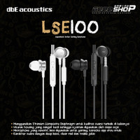 dbE Acoustics LSE100 Small Earphone with Microphone