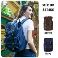 Tas Ransel Backpack Laptop MIX UP Pria & Wanita WATERPROOF & ORIGINAL