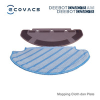 Ecovacs Aksesoris DEEBOT OZMO T8 / T8 AIVI Pad Plate and Mopping Cloth