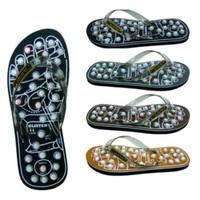 Sandal kesehatan akupuntur refleksi alat terapi pijat kaki rematik Top