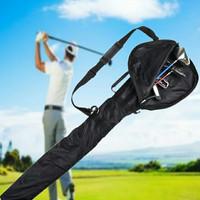 Lipat Klub Golf Ritsleting Tas Olahraga Outdoor TahanAir Brassie Stick