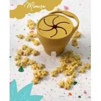 Silicone Snack Cup / Tempat Makan Bayi LittleBebe - Mimosa
