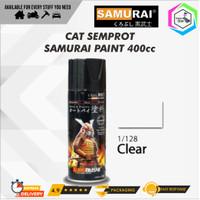 Samurai Paint 128 Clear Mengkilap Standar Cat Semprot/Pylox