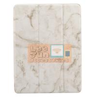 New iPad 2018 9.7 Gen-6 iPad 6 3 Fold Marble Smart Case/Cover w.Holder