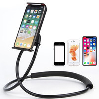 Lazy Neck Phone Holder Lazypod Stand Smartphone Leher Flexible Hp inch