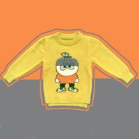 Baju Sweater Rajut Atasan Anak Laki Laki Halus Import Real Picture 3 - SIZE 4