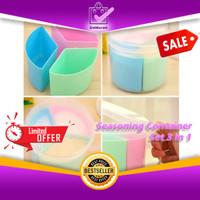 Seasoning Container Set 3in1 - Tempat Bumbu Plastik Serbaguna 0665