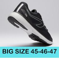 Sepatu lari running big size besar 45 46 47 Original Kalenji - Putih