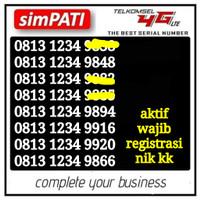 nomor cantik simpati nomer cantik Telkomsel kartu perdana murah 1234