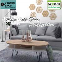 MEJA RUANG TAMU -MOANA COFFEE TABLE MULTIFUNGSI - Brown